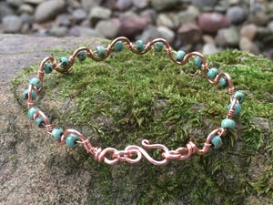 Image of Copper Wave Bracelet Class with Jennifer Tuschong