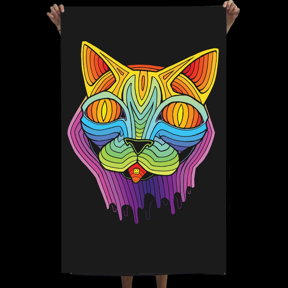 Image of ACID CAT TAPESTRY