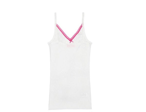 Image of White XOXO camisole