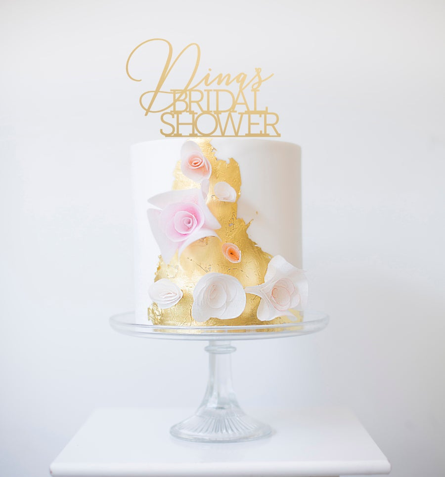 Image of Bridal Shower Calligraphy