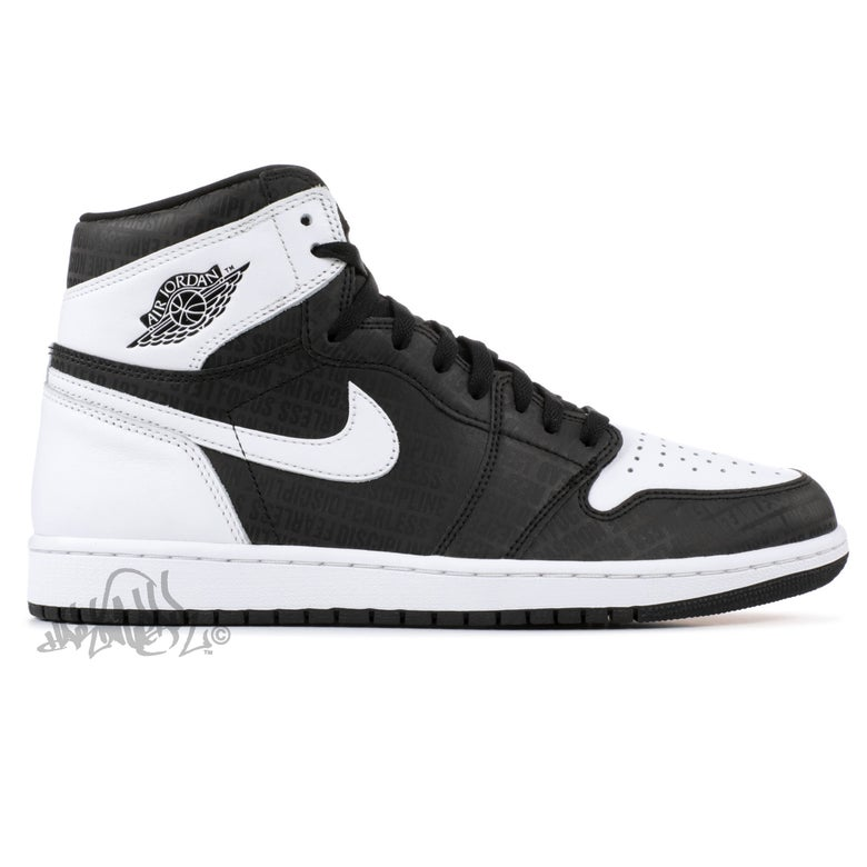 Image of AIR JORDAN 1 RETRO HI OG - RE2PECT - 555088 008