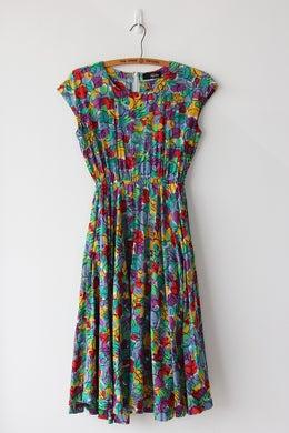 Image of SOLD Rainbow Tutti Frutti Dress