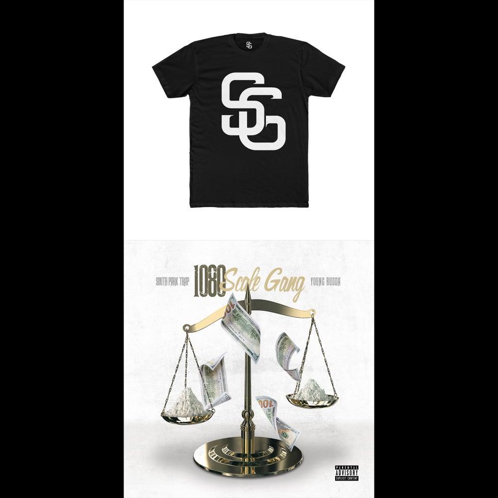 Image of Scale Gang T-Shirt & Signed Scale Gang 1080 Album (CD or Digital Copy) Bundle