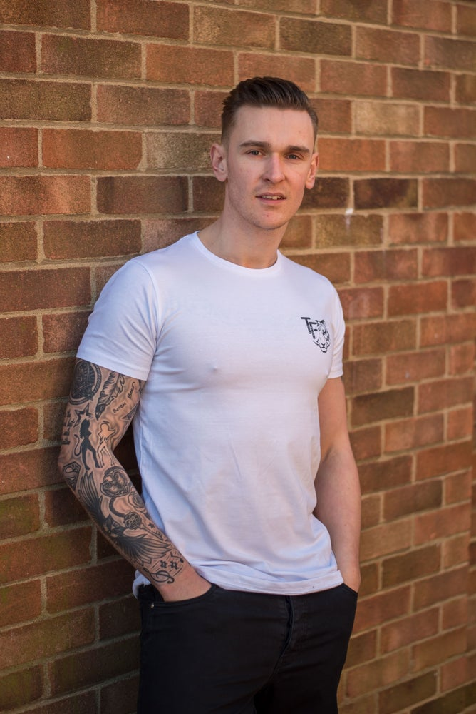Image of Tiger Fitness White T