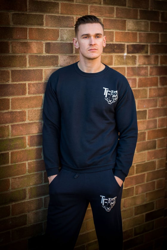 Image of Tiger Fitness Navy Tracksuit