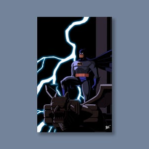 """Image of """"I Am The Night,"""" 11""""x17"""" Signed Print [ONLINE EXCLUSIVE]"""