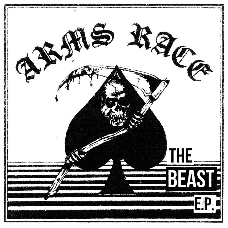 "Image of Arms Race 'The Beast' 7"" UKHC NWOBHC"