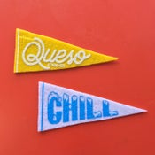 Image of Queso & Chill - Mini Pennants