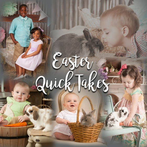 Image of Easter Quick Takes with Bunnies