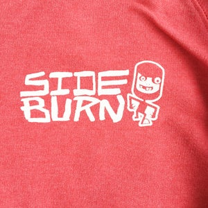 Image of Engine Crewneck Sweat Shirt - Californian Sun-faded Red