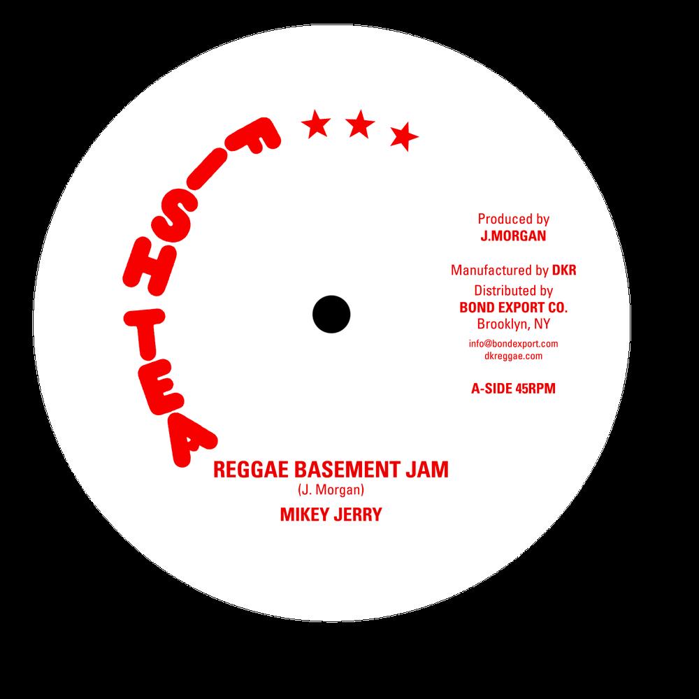 "Image of Mikey Jerry - Reggae Basement Jam 10"" (Fish Tea)"