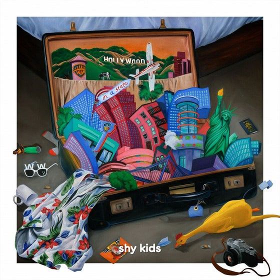 Image of shy kids - in a state (vinyl)