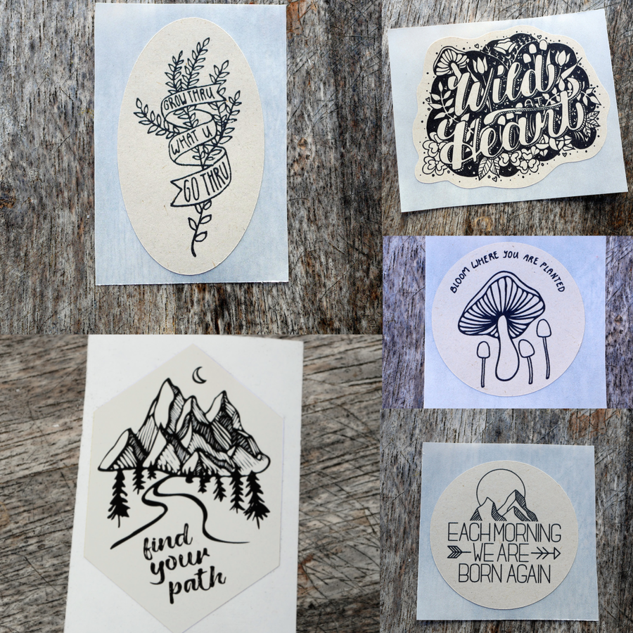 Image of Nature Lover Sticker Pack