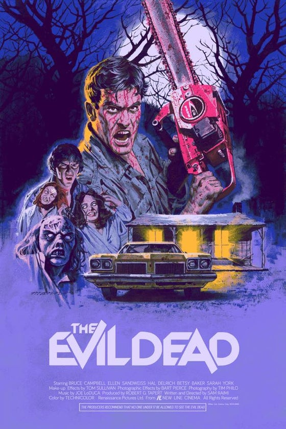 Image of THE EVIL DEAD BY PAUL MANN