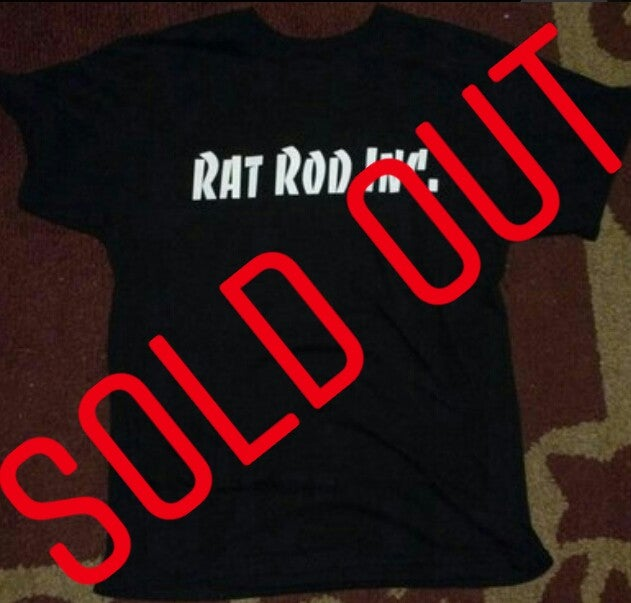 Image of Rat Rod Inc. Generic Retro Logo T-shirt