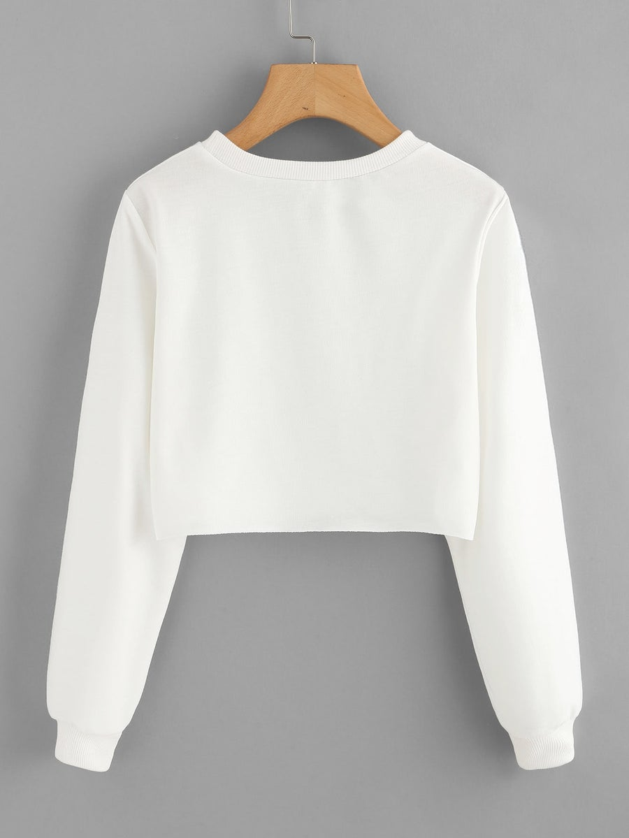 Image of THE BODY RELIGION CLASSIC PULL OVER CROP