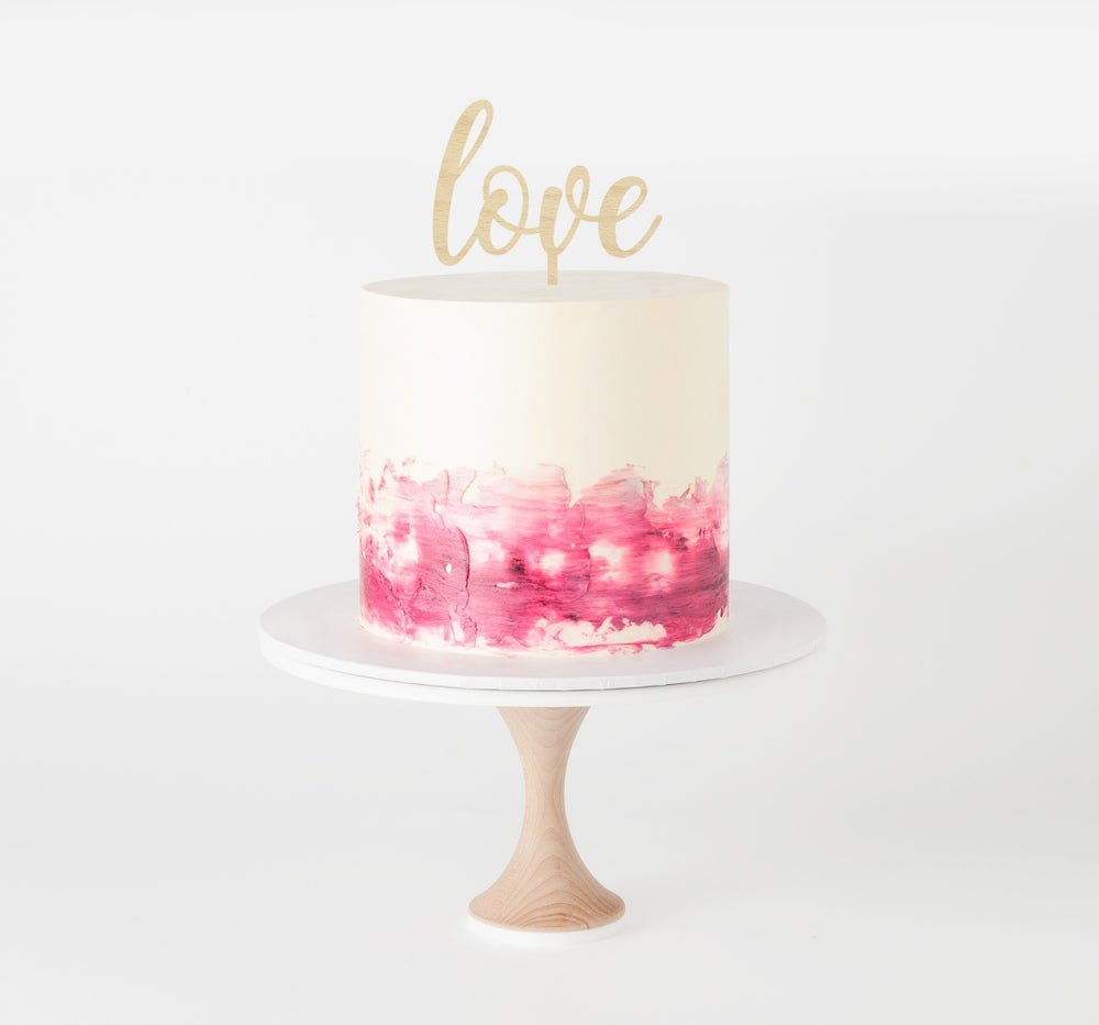 Image of Classic Love Cake Topper