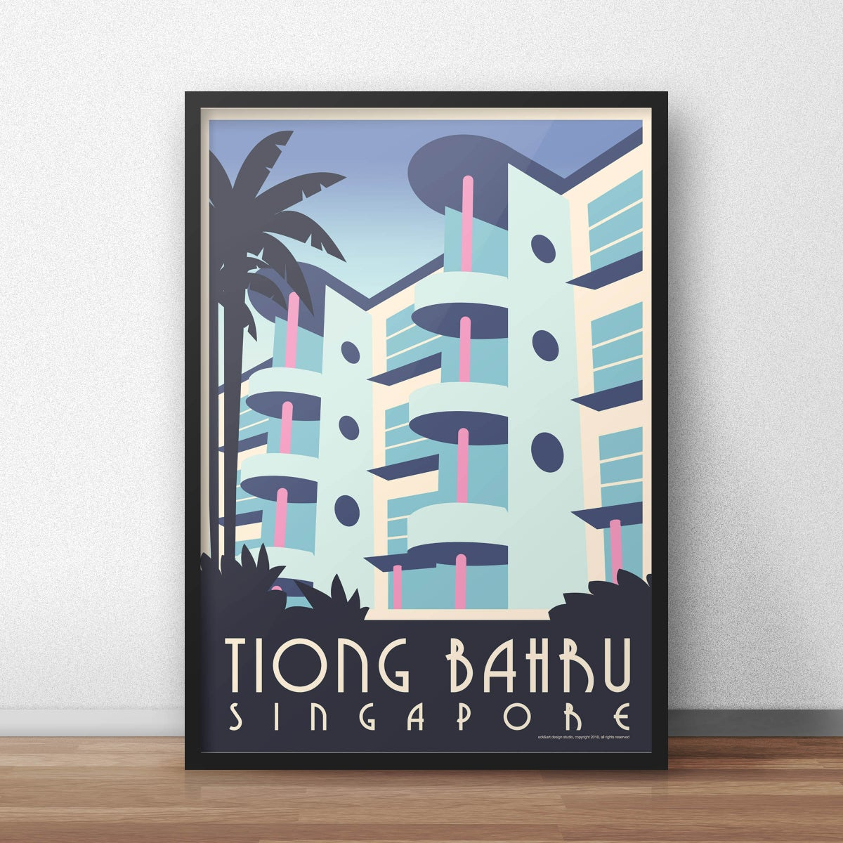 Image of Tiong Bahru Poster (pre-order March 5th shipping start)