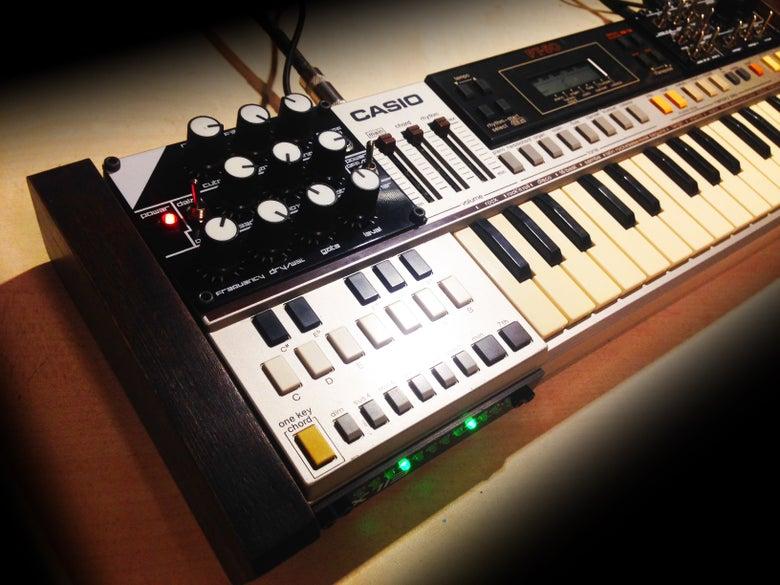 Image of CIRCUIT BENT CASIO PT-50 WITH MIDI