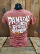 Image of Ladies Panhead Tee Shirt Rust