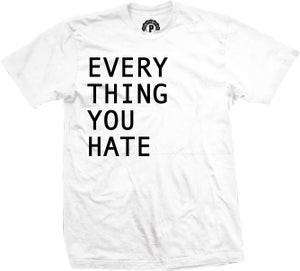 Image of 'EVERYTHING YOU HATE'