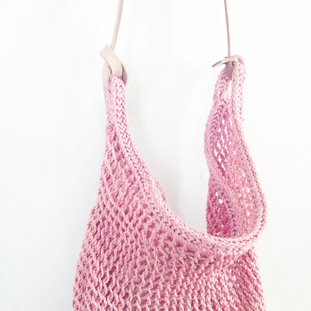 Image of In the Pink Naturally Dyed Cochineal Maguey Bag