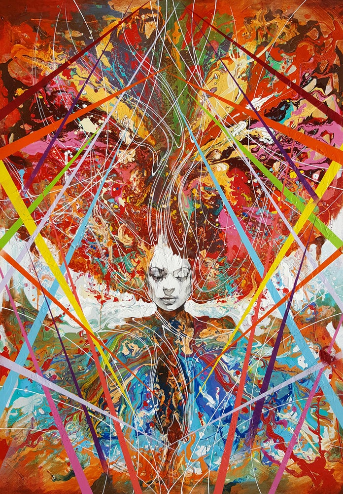 Image of The Mind Grows When You Sing From The Soul - OPEN EDITION PRINT - FREE WORLDWIDE SHIPPING