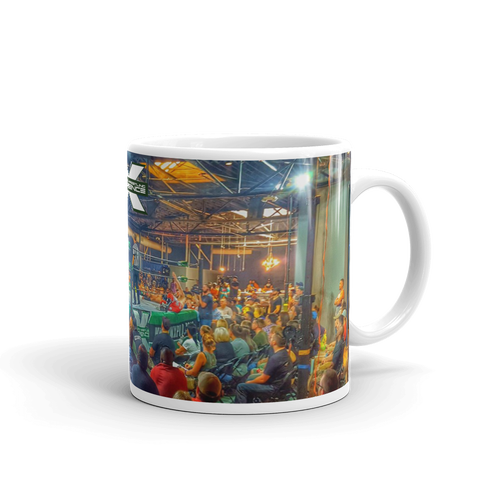 Image of Coffee Mug PWX crowd retro