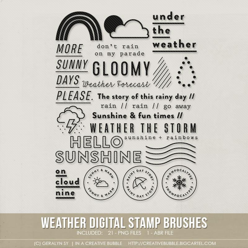Image of Weather Stamp Brushes (Digital)