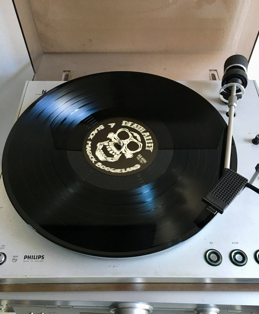 "Image of Back on black: ""Black Magick Boogieland"" LP (black vinyl)"