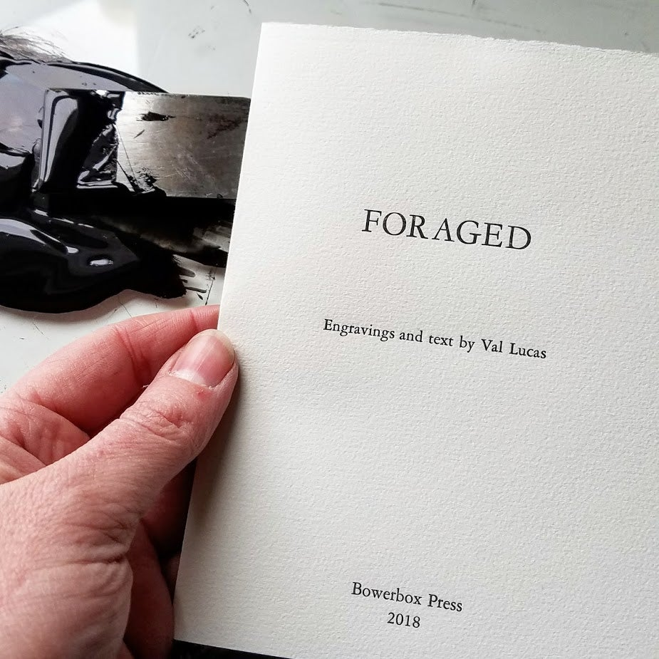 Image of FORAGED - Artist's Book with Wood engravings