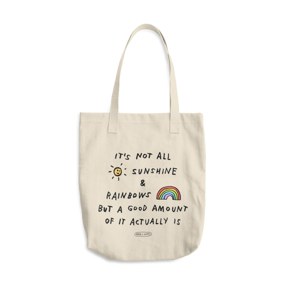Image of Sunshine & Rainbows Tote
