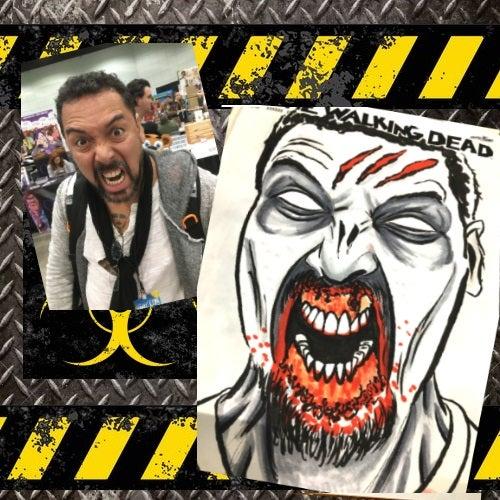 Image of Custom Zombie Sketch Cover