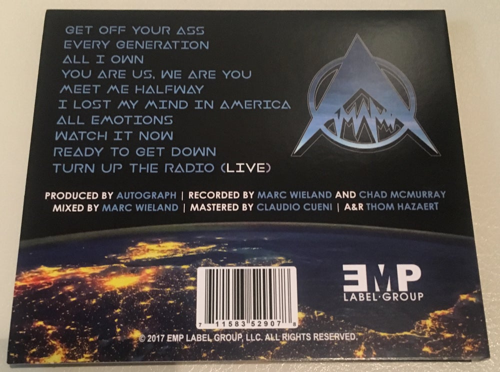 Image of GET OFF YOUR ASS - CD