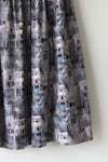 Image of SOLD Henry Rosenfeld Windows and Carriage Cotton Novelty Print Skirt
