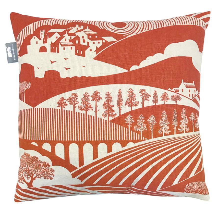 Image of Moordale Cushion - Harvest Orange