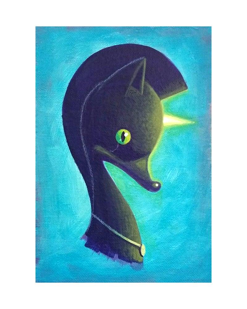 Image of Swanicaticorn (Purple Panther)