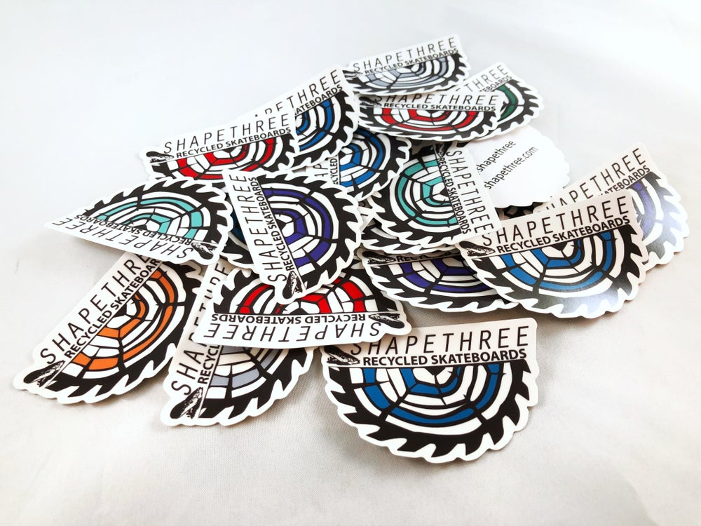 Image of Shapethree sticker packs