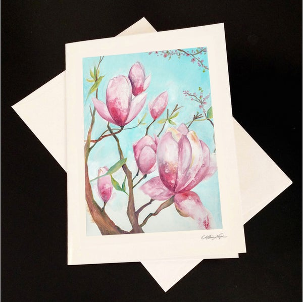 Image of Magnolia 5-Pack Greeting Card Set