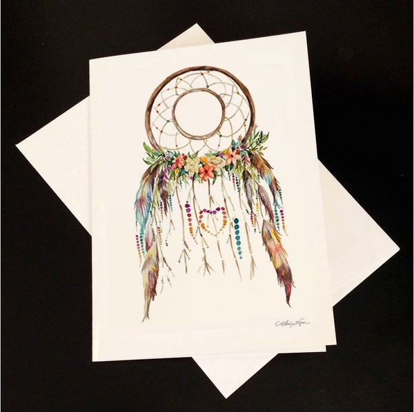 Image of Dreamcatcher 5-Pack Greeting Card Set