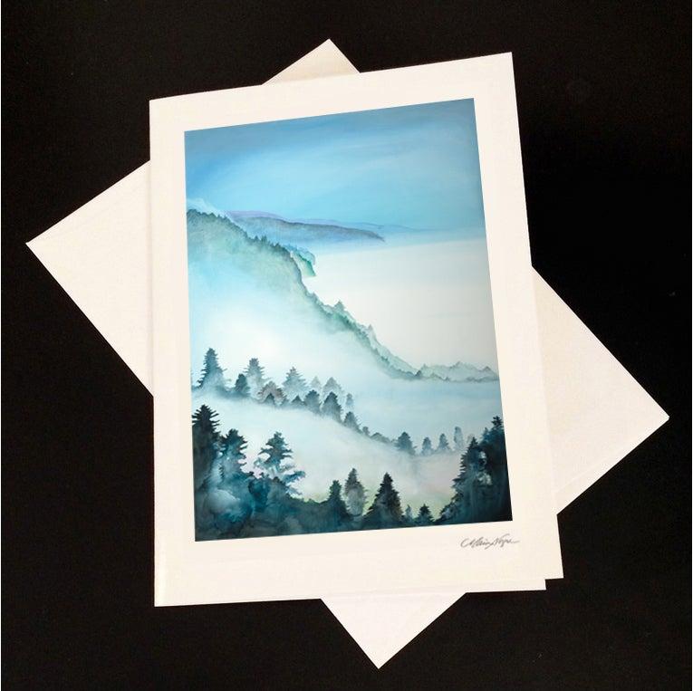 Image of Big Sur Mist 5-Pack Greeting Card Set