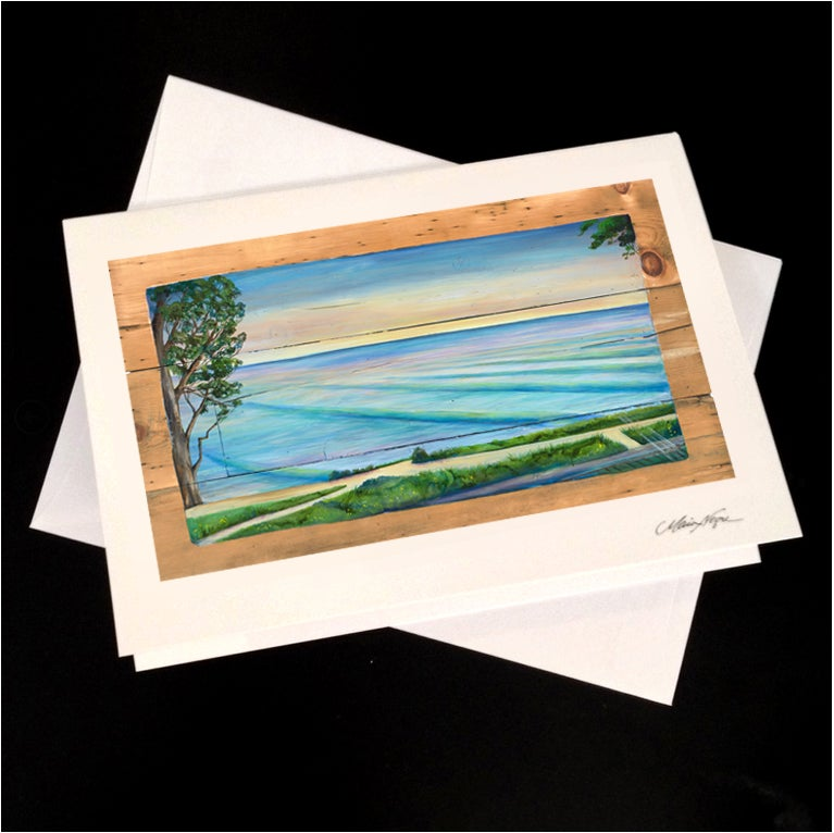 Image of New Brighton View 5-Pack Greeting Card Set