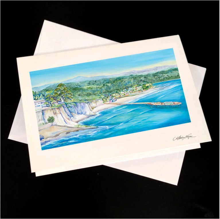Image of Trees to Capitola 5-Pack Greeting Card Set