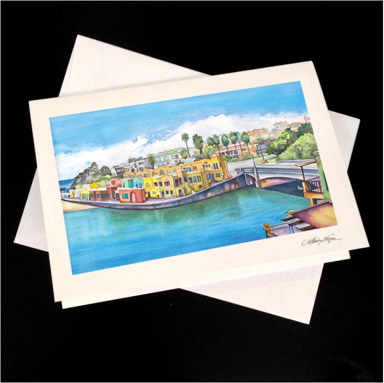 Image of Venetian View 5-Pack Greeting Card Set