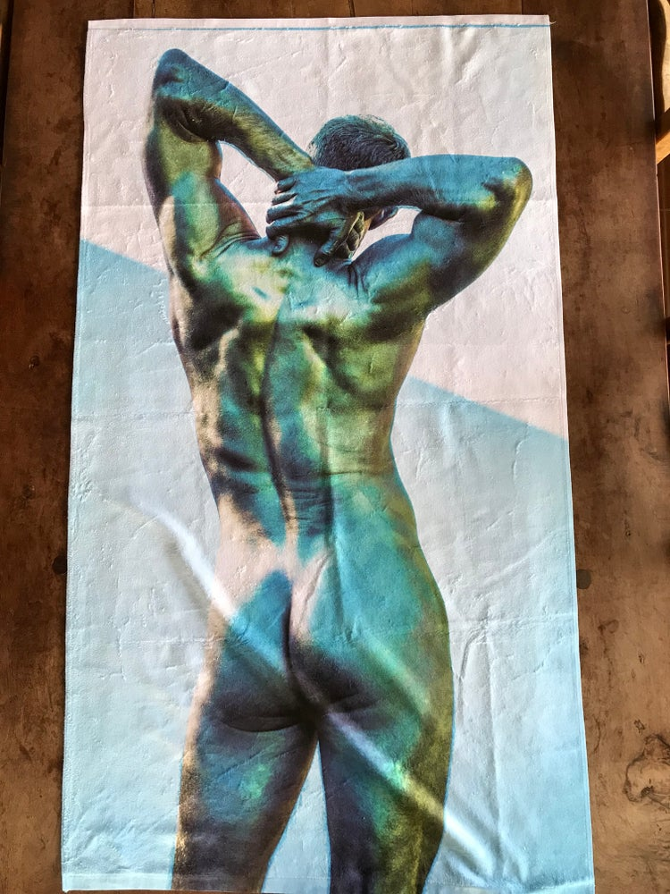 Image of Slightly irregular beach towels!