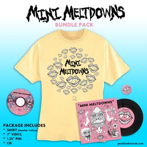 Image of Mini Meltdowns Bundle Pack Pre-order (Delivers 4/20/18)