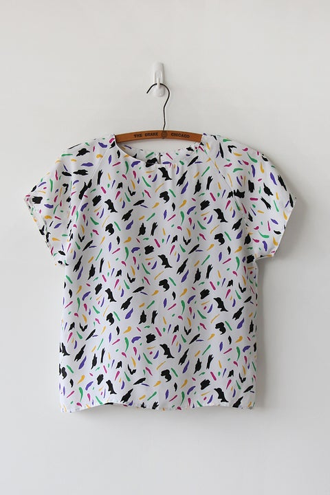 Image of SOLD Paint The Way Blouse