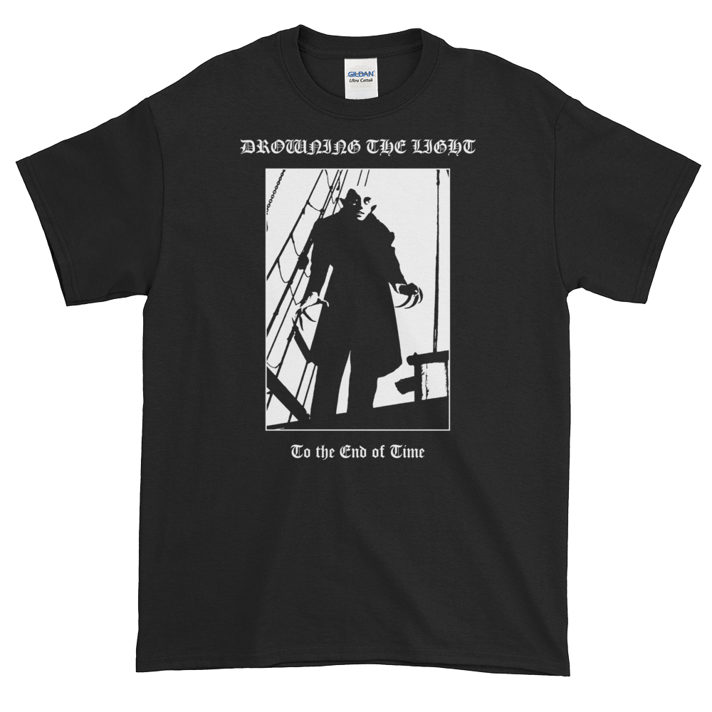 """Image of Drowning the Light - """"To the End of Time"""" shirt"""