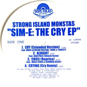 "Image of STRONG ISLAND MONSTAS ""SIM-E/ADUM 7"" EP"
