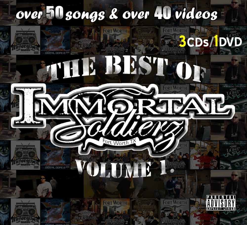 Image of Best of Immortal Soldierz (4 Disc Set)